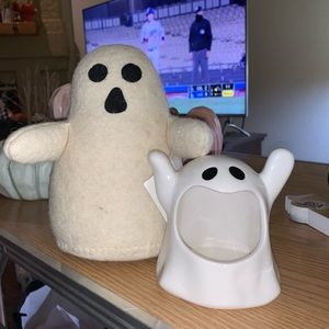 Other - STUFFED FELT GHOST GHOSTIE